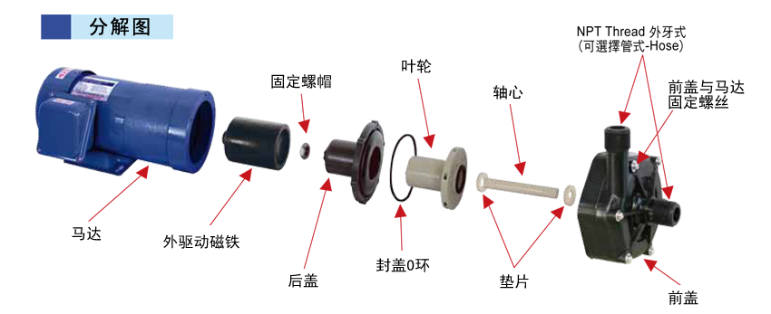 5085水泵电路图