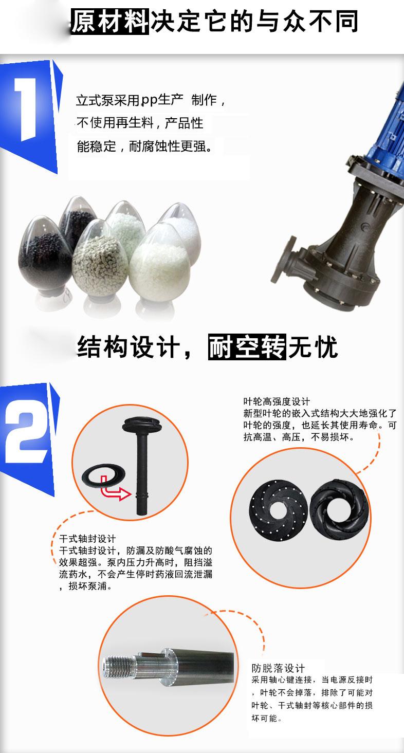 塑宝立式泵材质